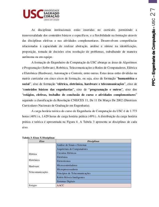 b60766fc85f55 Projeto Pedagógico do Curso de Bacharelado em Engenharia de Computaçã…
