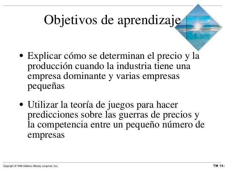 Objetivos de aprendizaje <ul><li>Explicar cómo se determinan el precio y la producción cuando la industria tiene una empre...