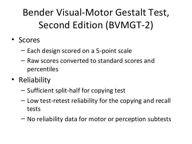 Bender Visual Motor Gestalt Test 28 Images Bender