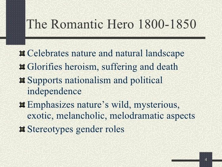 define romantic hero