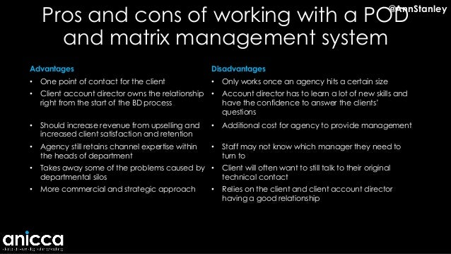 pros and cons of multi agency working