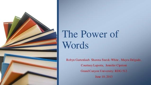 Robyn Gartenlaub. Shawna Starck-White , Mayra Delgado, Courtney Laporta, Jennifer Ciprioni Grand Canyon University: RDG 51...