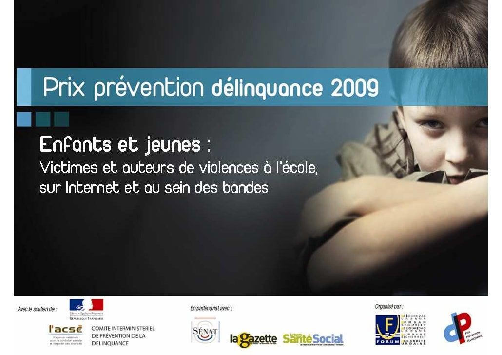 Prix Prévention Délinquance 2009