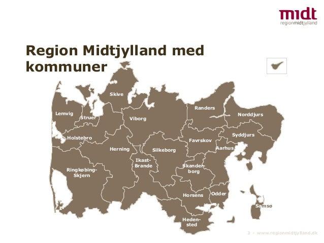 kommuner i region midtjylland