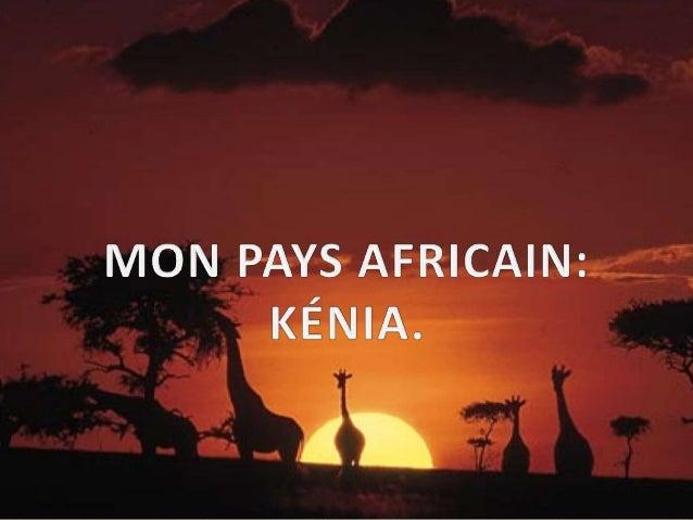 GENTILÉ: LES KENYANS  Nombre d'habitants : le nombre d'habitants au kénia est de 44,35 millions  (2013)