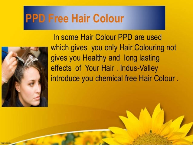 Ppd free Hair Colour Dye