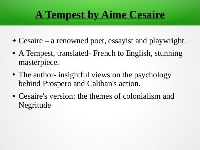 colonialism and the tempest Transcript of colonization and the tempest background and summary language and culture invasion (or basically how prospero screwed over caliban.