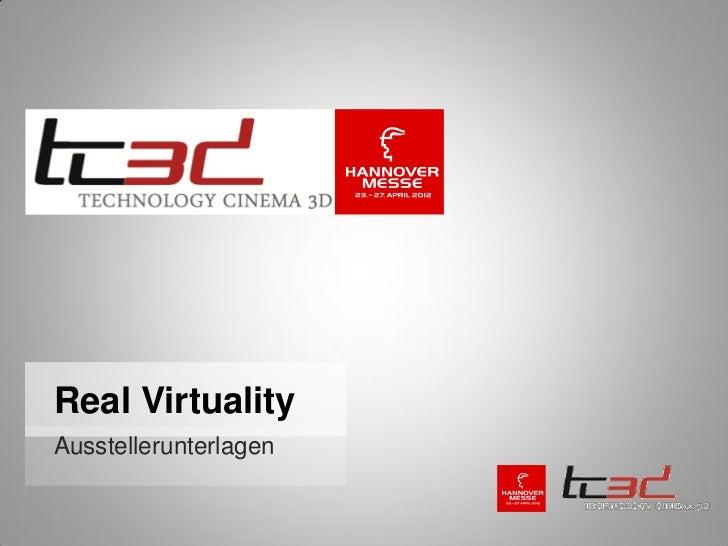 Real VirtualityAusstellerunterlagen