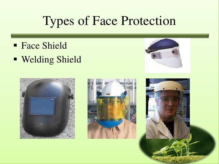 Types of Face Protection Face Shield Welding Shield