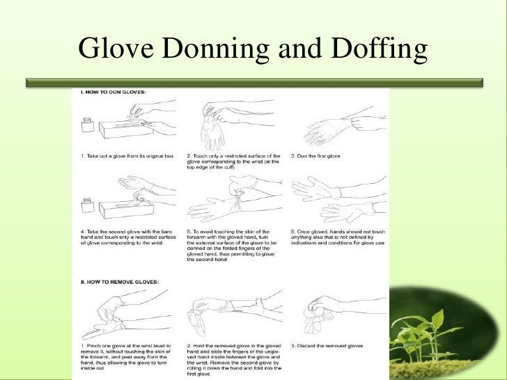 Glove Donning and Doffing