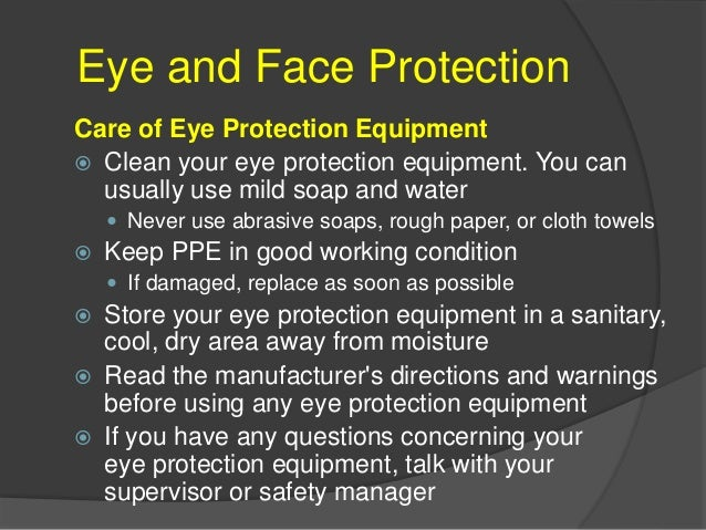 Head Protection Why is Head Protection Important?  In and around your head are:  Your eyes, with which you see  Your ea...