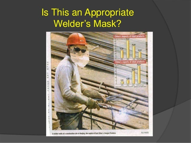 Is This an Appropriate Welder's Mask?