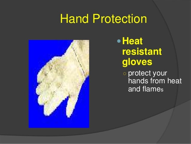 Hand Protection Latex disposable gloves ○ used to protect your hands from germs and bacteria