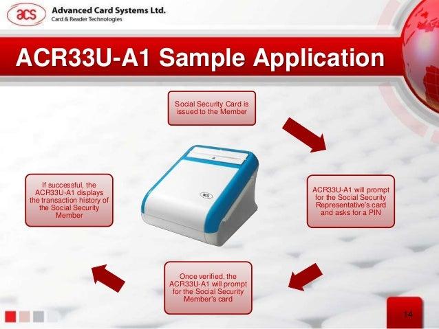ACS ACR33U-A1 Smart Card Reader Driver Download