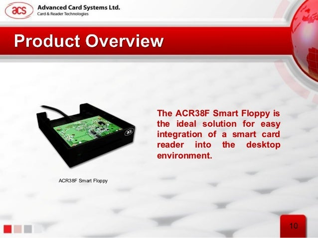Advanced Card Systems ACR38F Smart Floppy Driver for Windows Download
