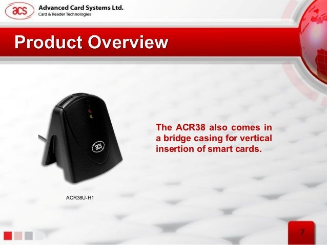Advanced Card Systems ACR38F Smart Floppy Driver