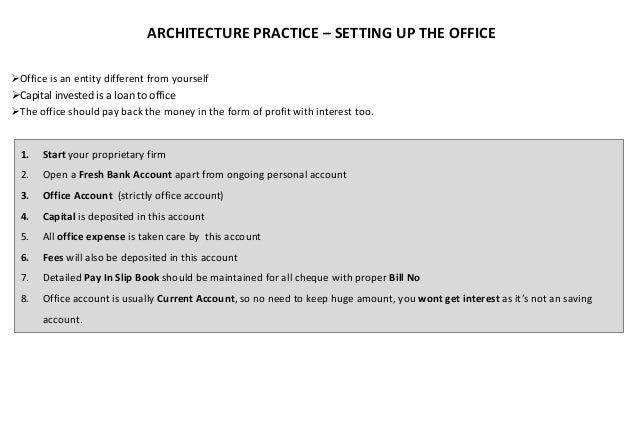 ARCHITECTURE PROFESSIONAL PRACTICE