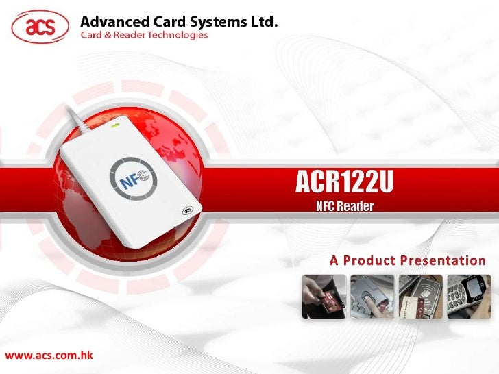 Advanced Card Systems ACR122T Driver Windows XP