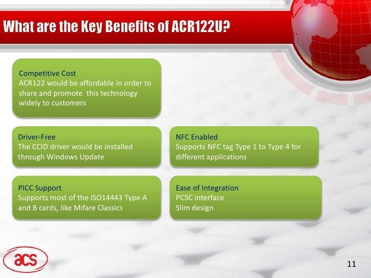 ACR122 product presentation by Advanced Card Systems Ltd