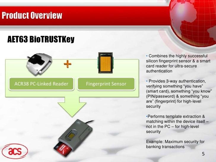 AET63 BioTRUSTKey Drivers Update