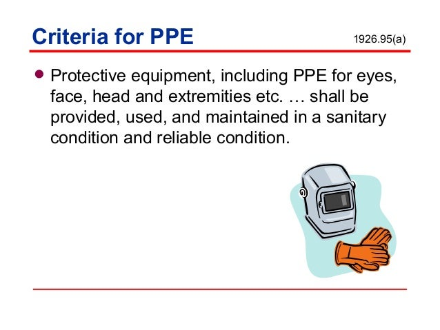 personal protective equipment in construction pdf