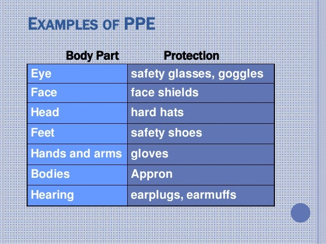 PPE( personal Protective equipment) - 웹