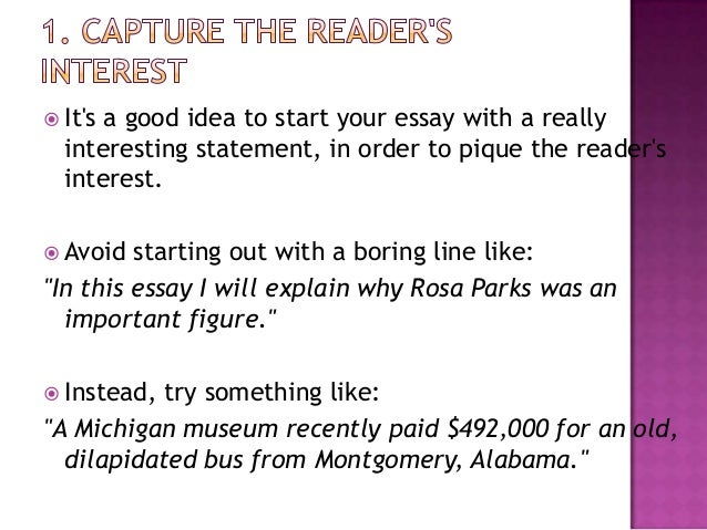 Starting an essay with a question Essay Starter is an iPad application designed for writers  students and