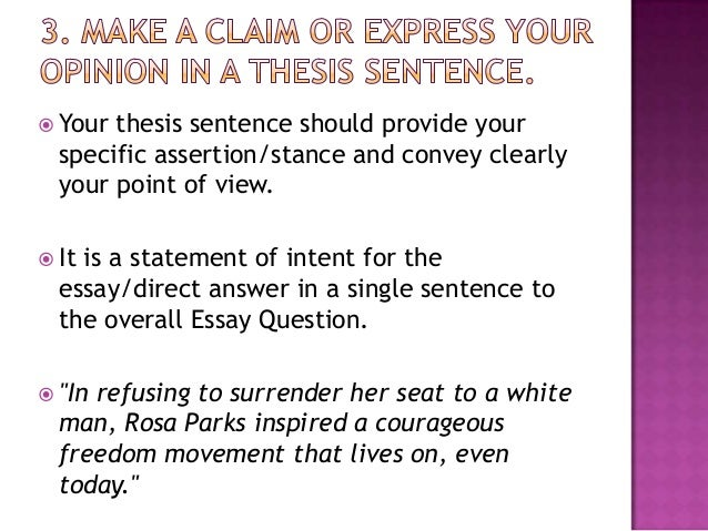 English Class Reflection Essay  Thesis For A Narrative Essay also Essays On Health Care Reform Pp Essay Writing Example Thesis Statements For Essays