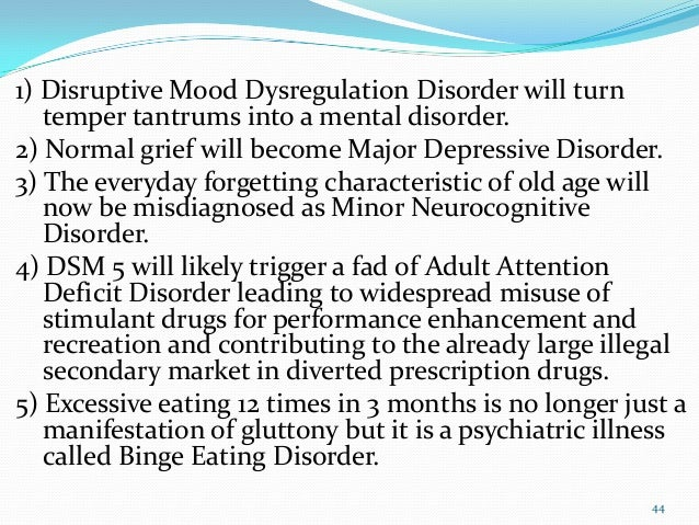 Disruptive Mood Dysregulation Disorder Treatment Ethical Issues ...