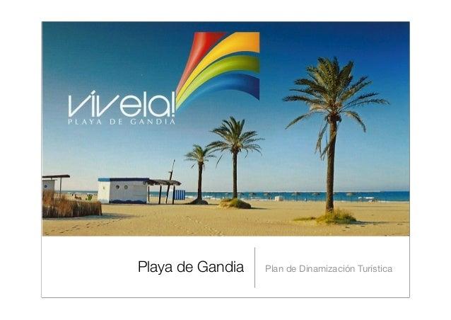 Playa de Gandia Plan de Dinamización Turística