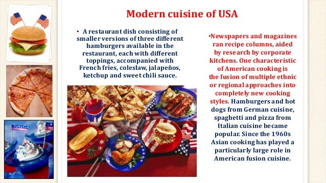 Food around the worldenglish project usas cuisine 7 forumfinder Choice Image