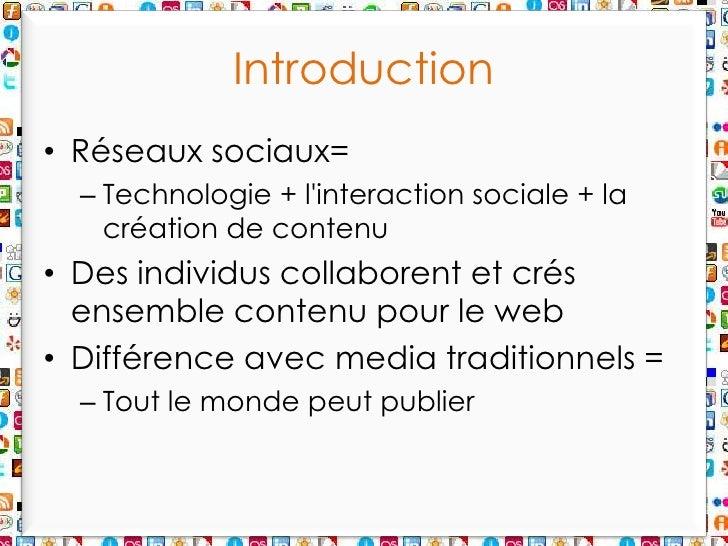 Powerpoint Réseaux Sociaux Slide 3