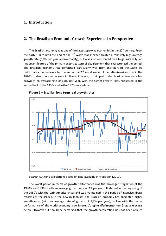 an introduction to the economy of brazil Edu is a platform for academics to an introduction to the economy of brazil share research papers the bottom line.