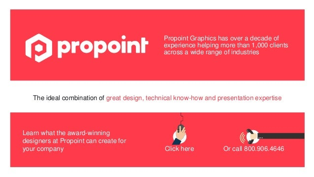 Propoint Graphics has over a decade of experience helping more than 1,000 clients across a wide range of industries Logo? ...