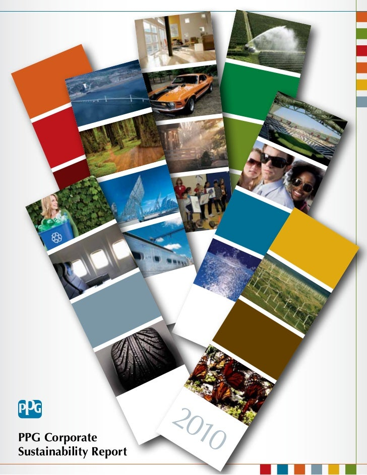 201PPG CorporateSustainability Report                           0
