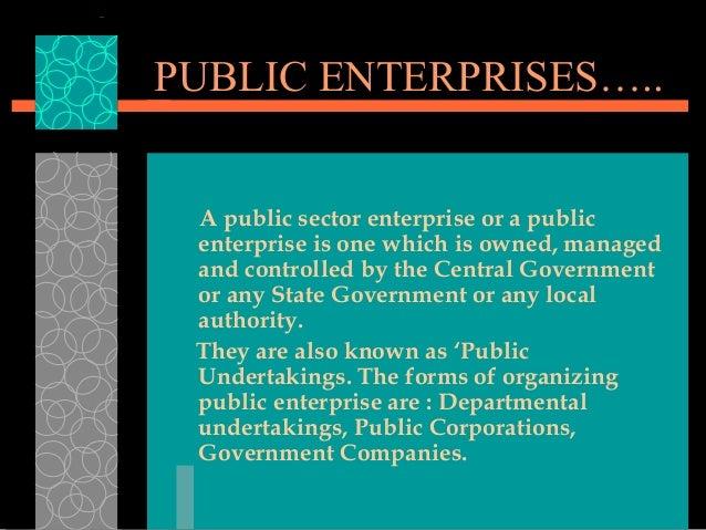 what is public enterprise Singaporean journal of business economics, and management studies vol3, no2, 2014 182 privatisation of public enterprises in nigeria: a thematic exposition.