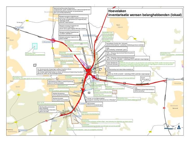 Inzet van de Maptable binnen RWS Utrecht.  Informatie avonden.    Planstudie knp. Hoevelaken.    Planstudie Ring Utrecht. ...