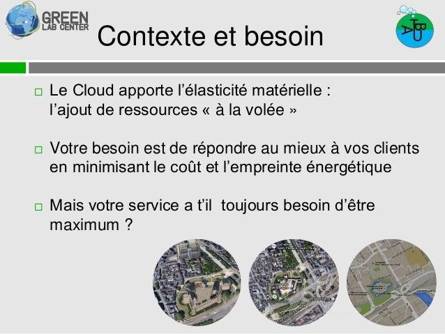 Contexte et besoin   Le Cloud apporte l'élasticité matérielle :  29 septembre 2014  l'ajout de ressources « à la volée » ...