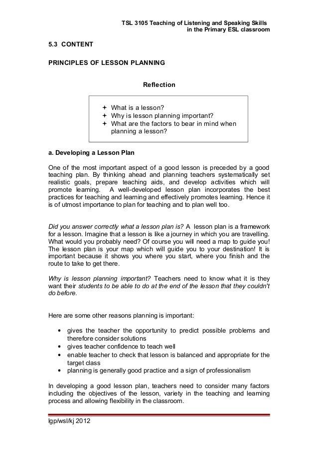 Delightful ... Lesson Plan Format; 2.