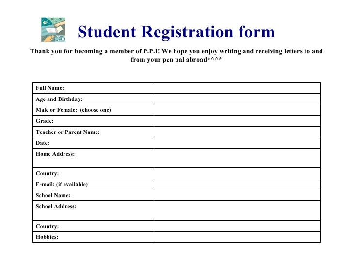 Ppi pen pals international 9 student registration form thecheapjerseys Gallery