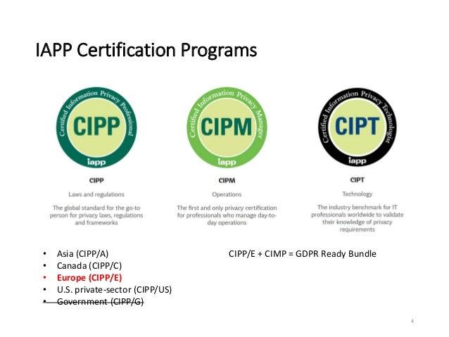 certification iapp programs overview cipp