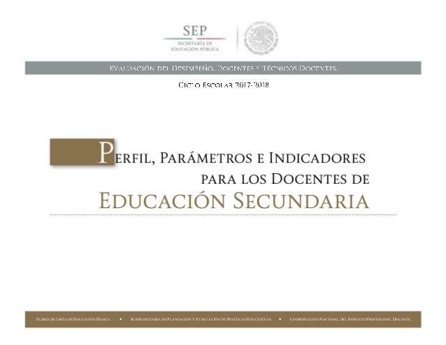 SUBSECRETARÍA DE EDUCACIÓN BÁSICA  COORDINACIÓN NACIONAL DEL SERVICIO PROFESIONAL DOCENTE37 SUBSECRETARÍA DE EDUCACIÓN BÁ...
