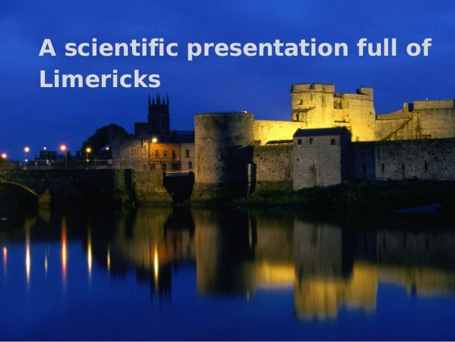 A scientific presentation full of Limericks  Types of Cooperation Episodes in Side-by-Side Programming – Lutz Prechelt  1 ...