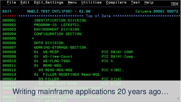 Mainframe Code