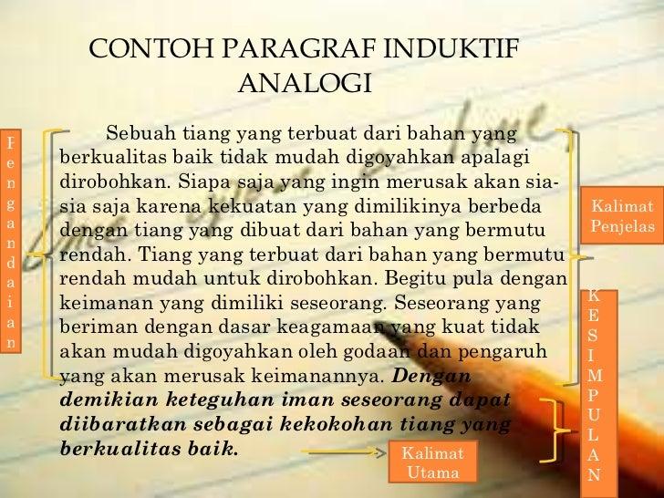contoh essay 5 paragraf Menurut kbbi (kamus besar bahasa indonesia), essay atau esai adalah karangan prosa yang membahasa suatu masalah secara sepintas lalu.