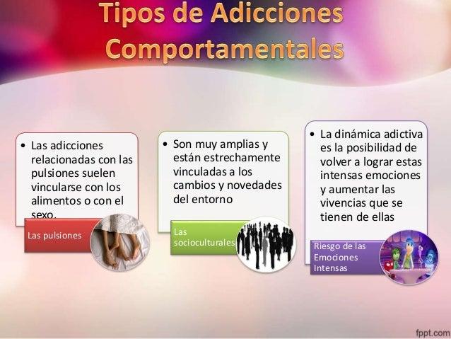 Resultado de imagen para adicciones a sustancias y las adicciones comportamentales