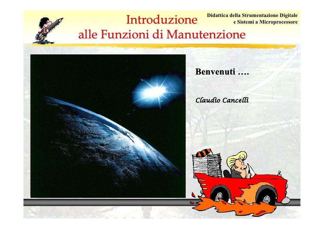 Introduzione                       Didattica della Strumentazione Digitale                                  e Sistemi a Mi...