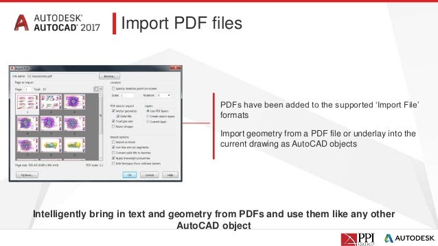 PPI Webinar | Whats New in AutoCAD 2017