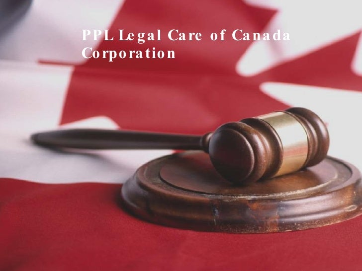 PPL Legal Care of Canada Corporation