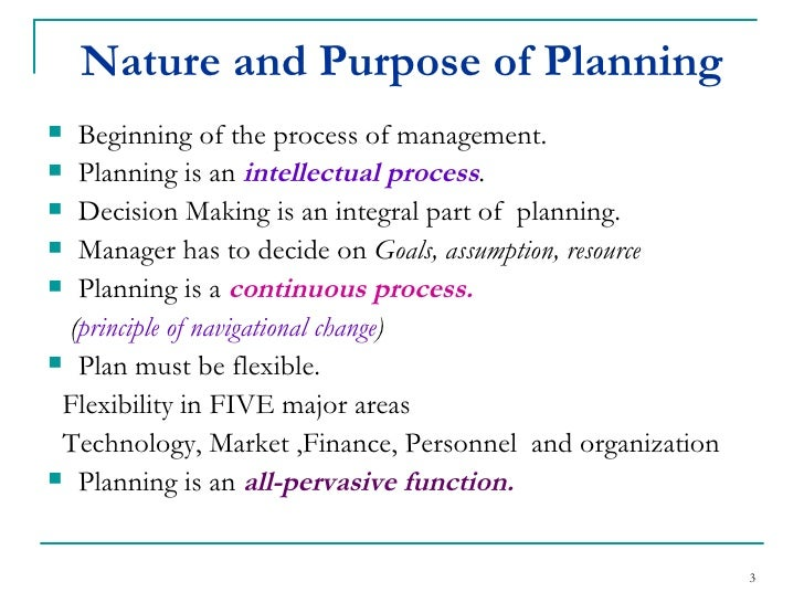 nature and purpose of planning The nature and purpose of analytical procedures accounting essay the nature and purpose of analytical procedures is to assist in planning the nature.